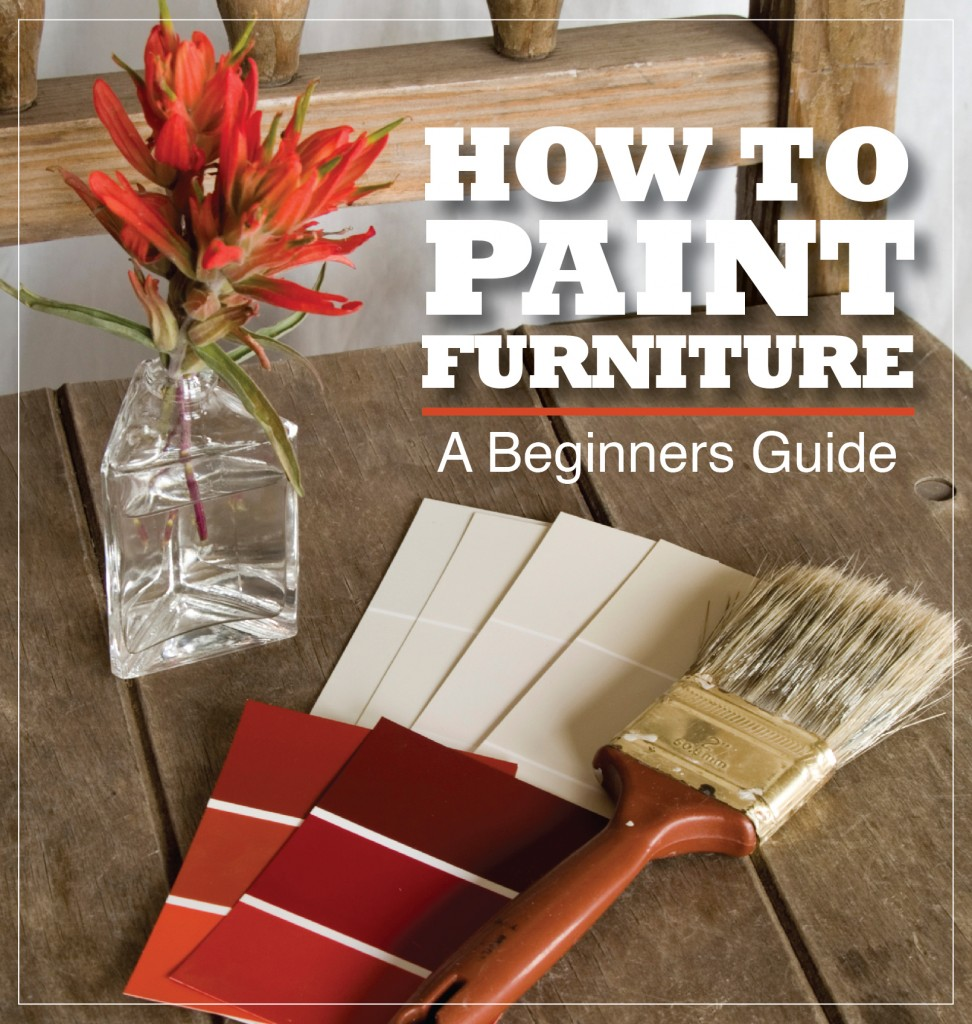 How to paint furniture cover