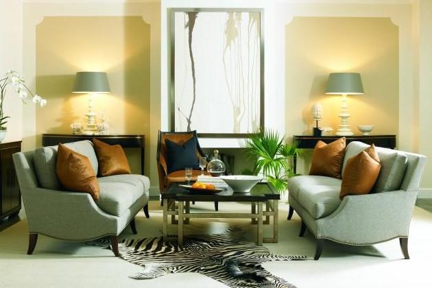 Hickory White Living Room