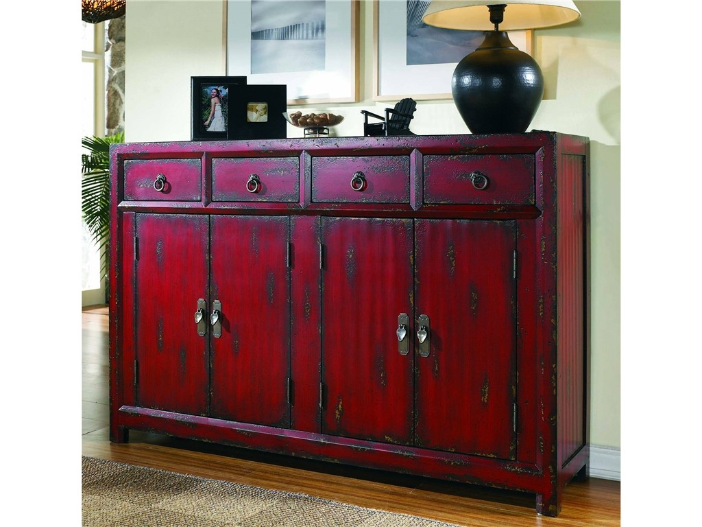 Steal of a Deal - Asian Red Cabinet