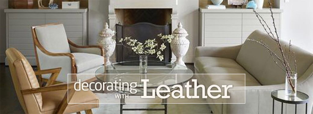 Decorating with Leather