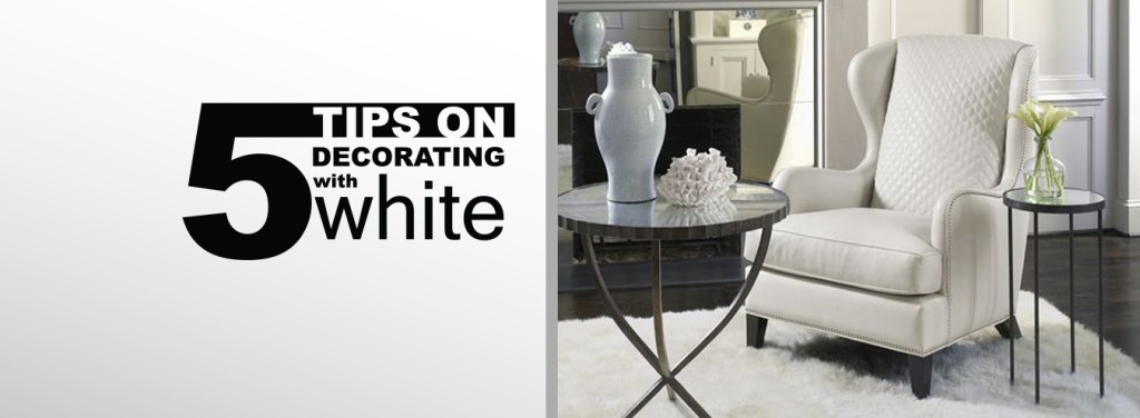 Mcelherans  5 Tips decorating with white
