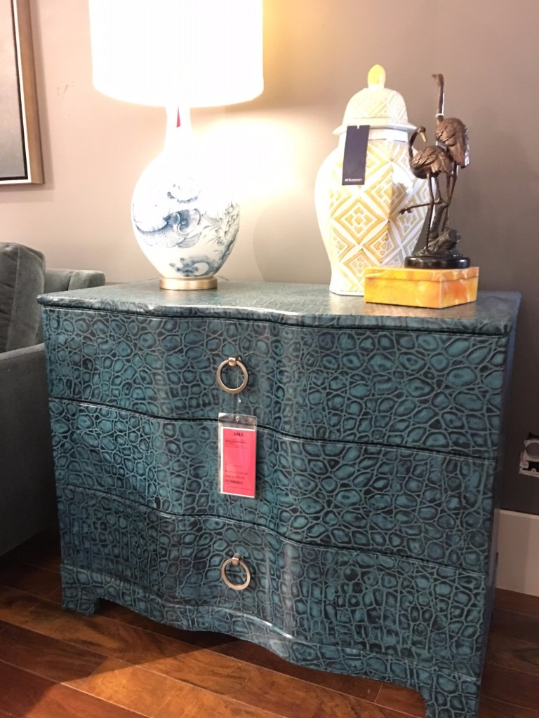 Bernhardt Interiors 326-230C Vance Blue Crock Bachelor Chest (1)